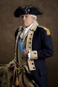 Bill Elder as George Washington